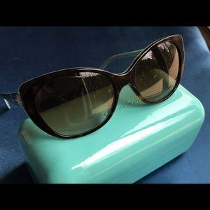 Tiffany & Co Sunglasses Havana 57mm TF4099H 8134B
